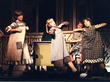 Libby in Annie, 1981